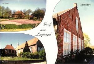 Postkarte alte Pastorei